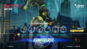 Overwatch-Teamauswahl