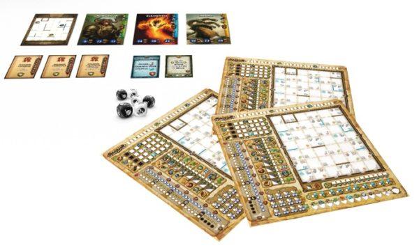 Spielmaterial Paper Dungeons