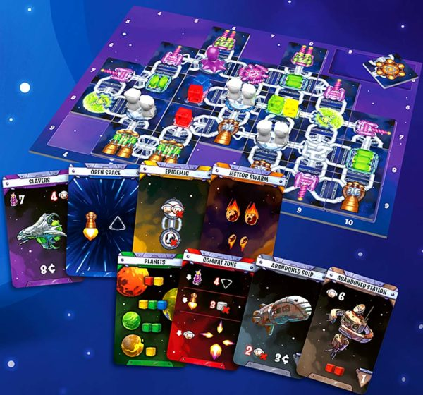 Galaxy Trucker Spielmaterial