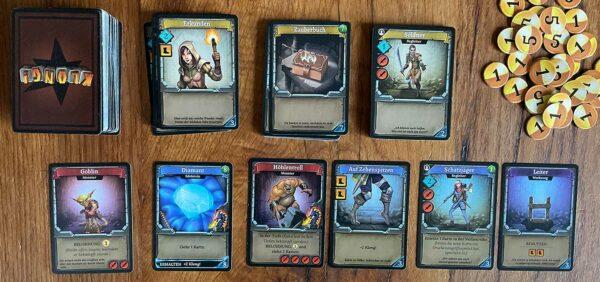Klong!Karten