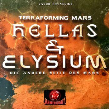 Terraforming Mars Hellas & Elysium Cover